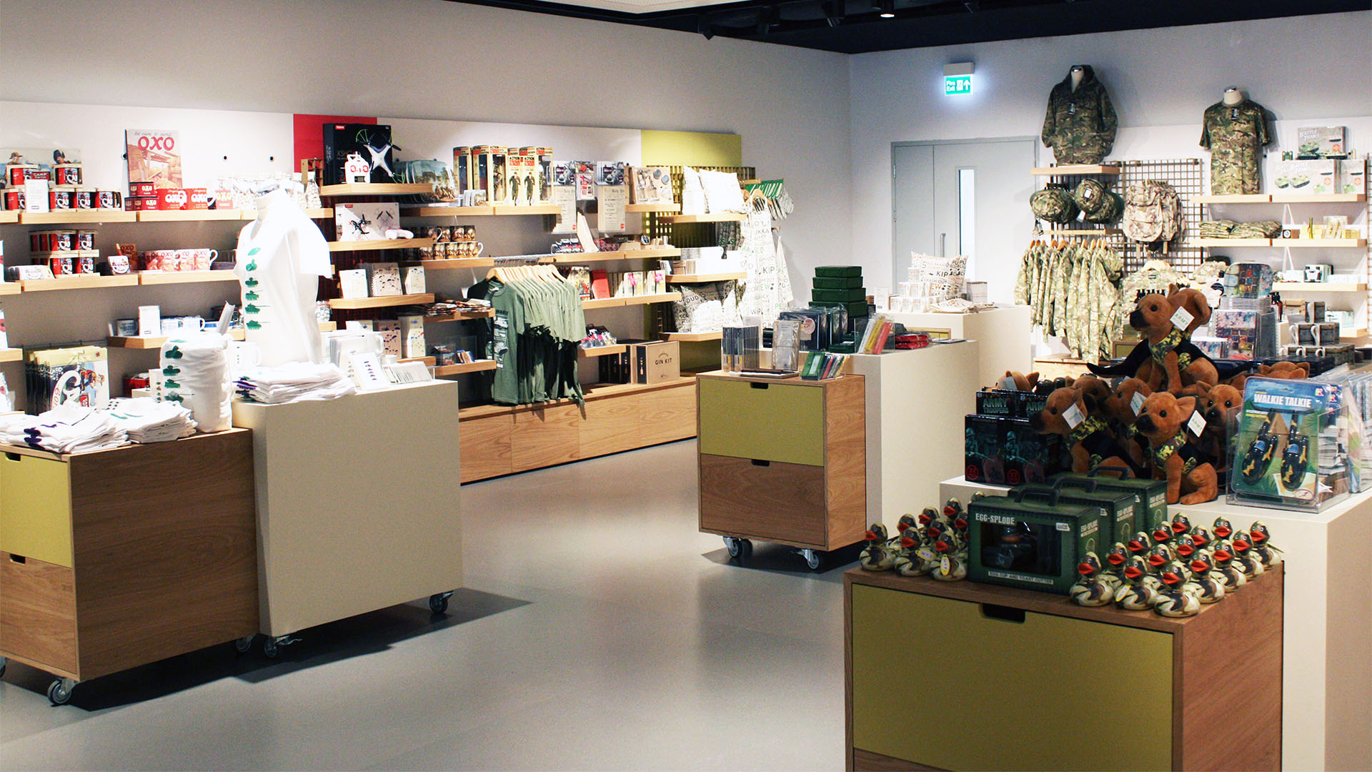 National Army Museum Gift Shop Interior