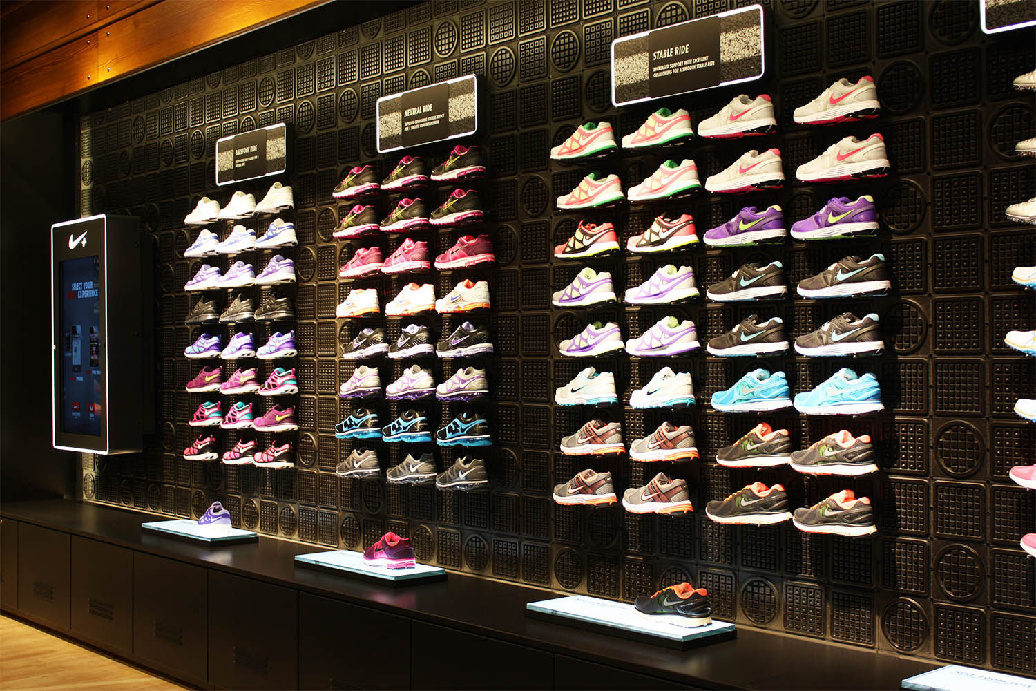 Nike Trainer Display
