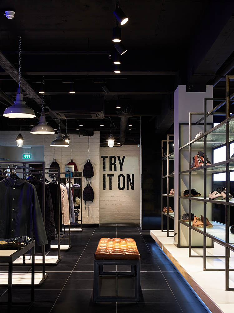 New Look Menswear Retail Interior