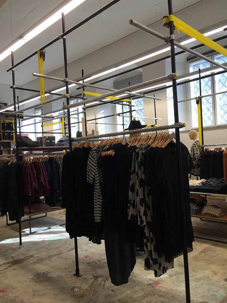 Pop Up Fashion Store Interior
