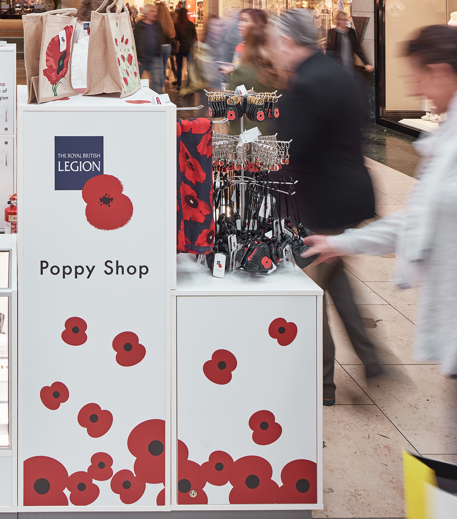 Poppy Shop Pop Up Store