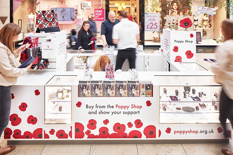 The Poppy Shop Pop Up Shop