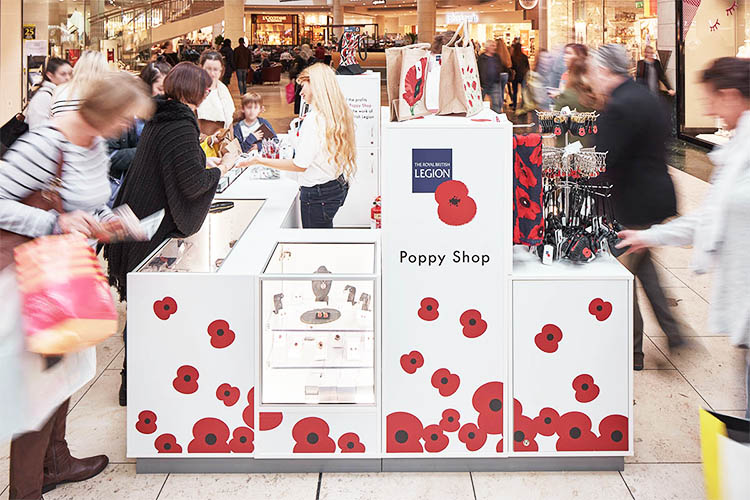 The Poppy Shop Pop Up Store