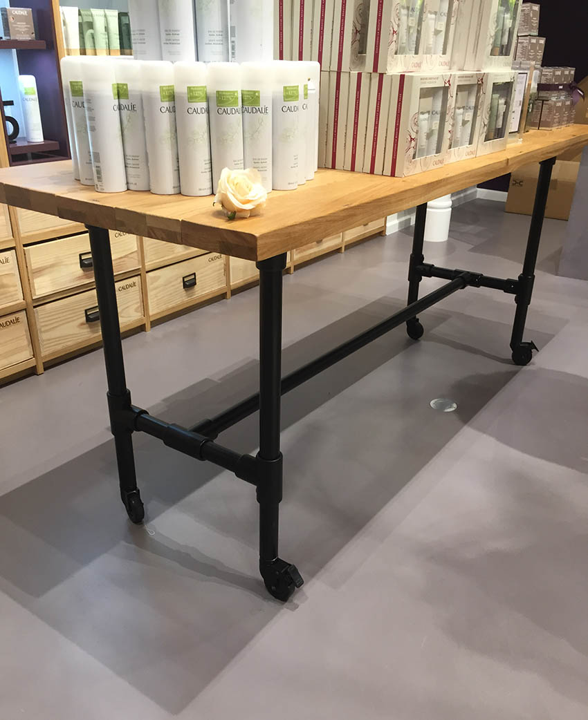 Retail Interior Table