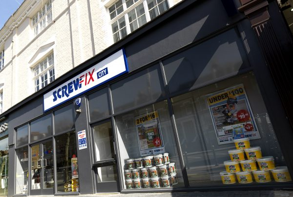 Retail Interiors | Screwfix City Store