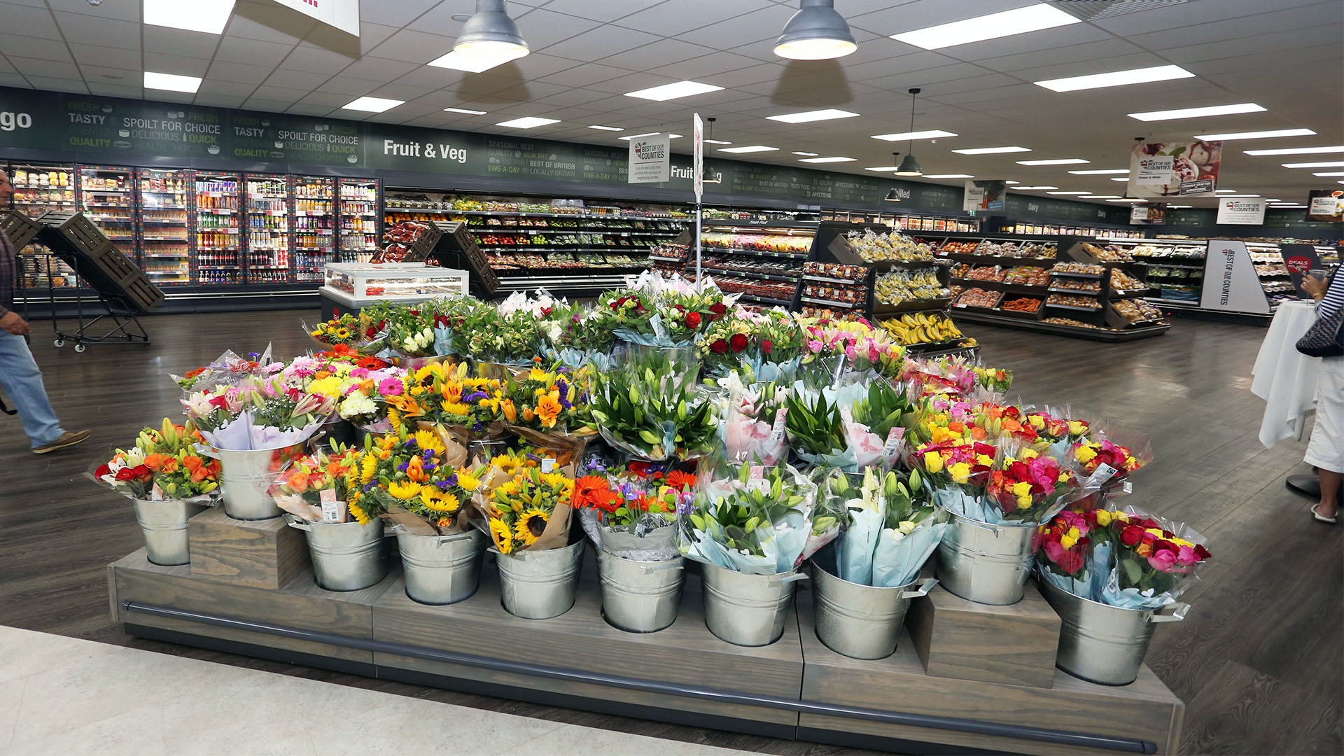 Midcounties Co-operative Flower Display