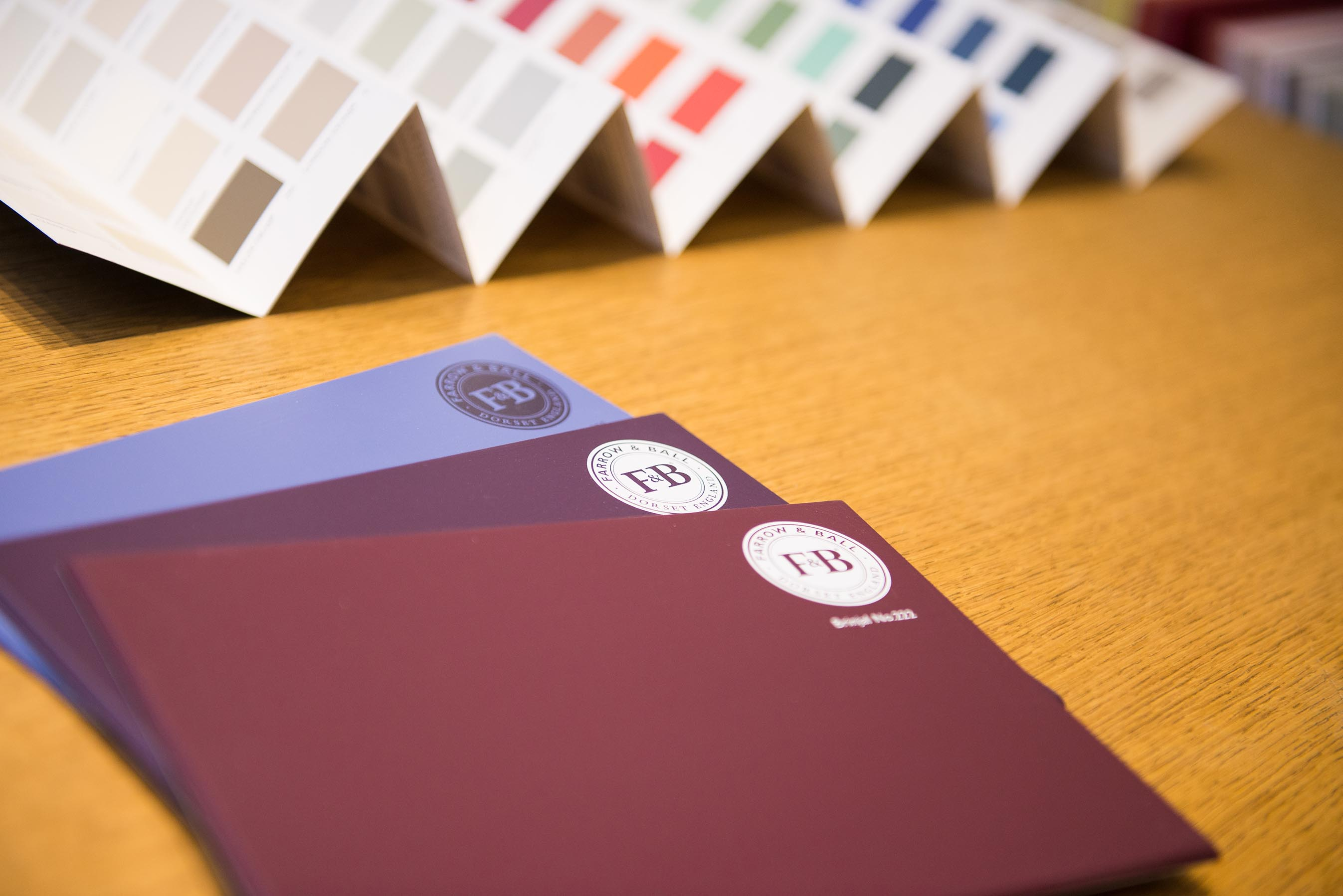 Farrow & Ball Paint Sample Colour Sample Boards