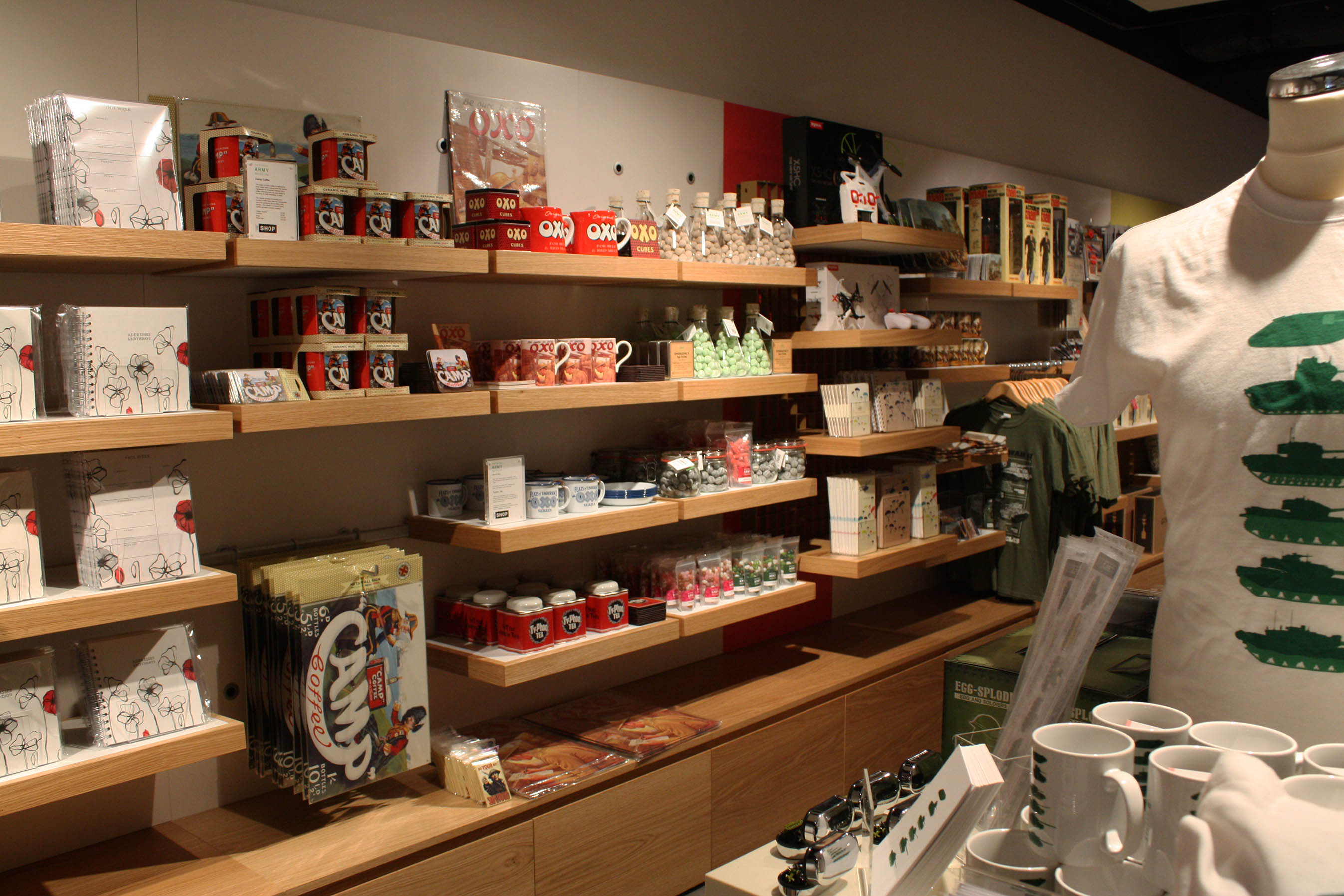 National Army Museum Gift Shop Merchandise