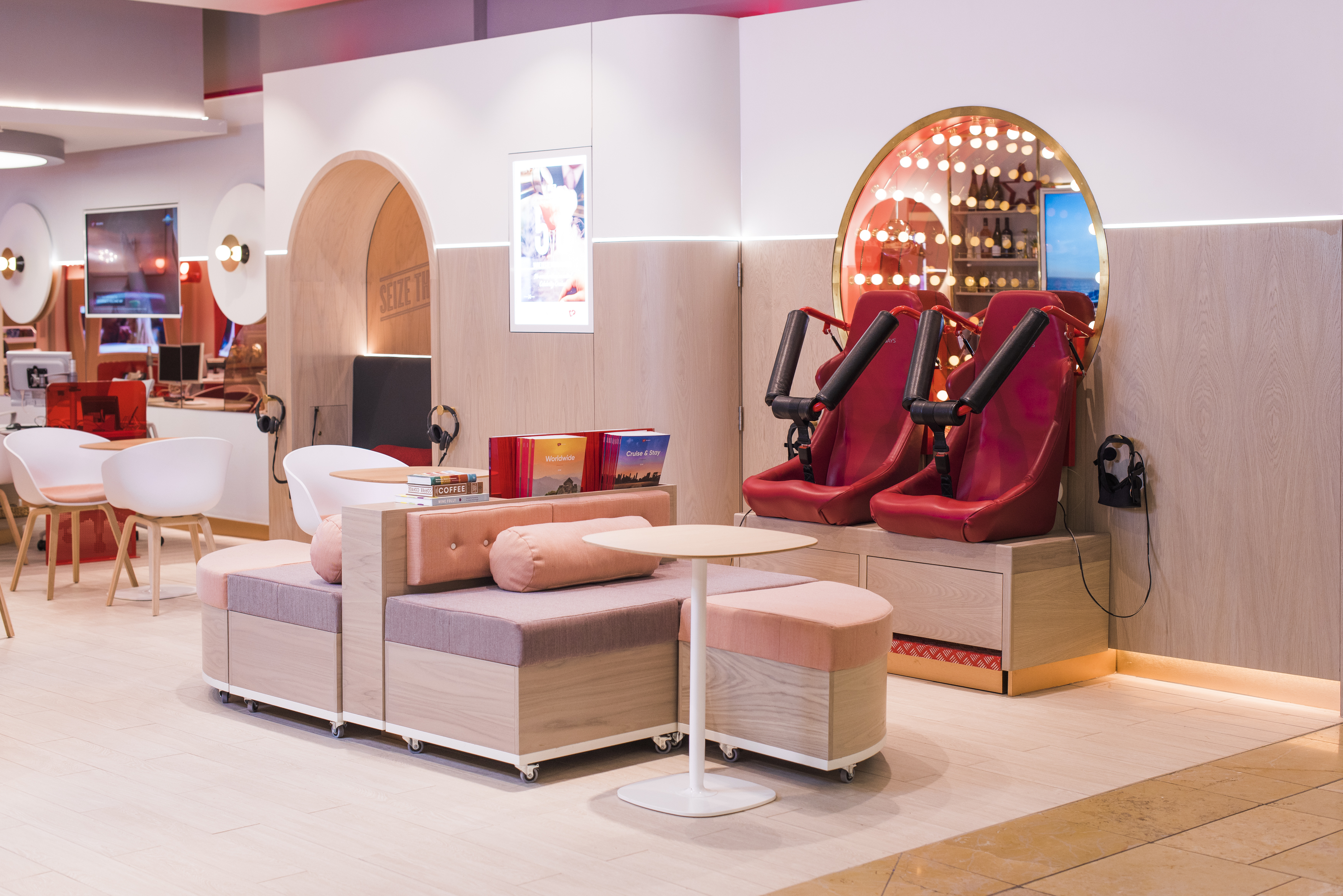 Virgin Holidays Retail Interior