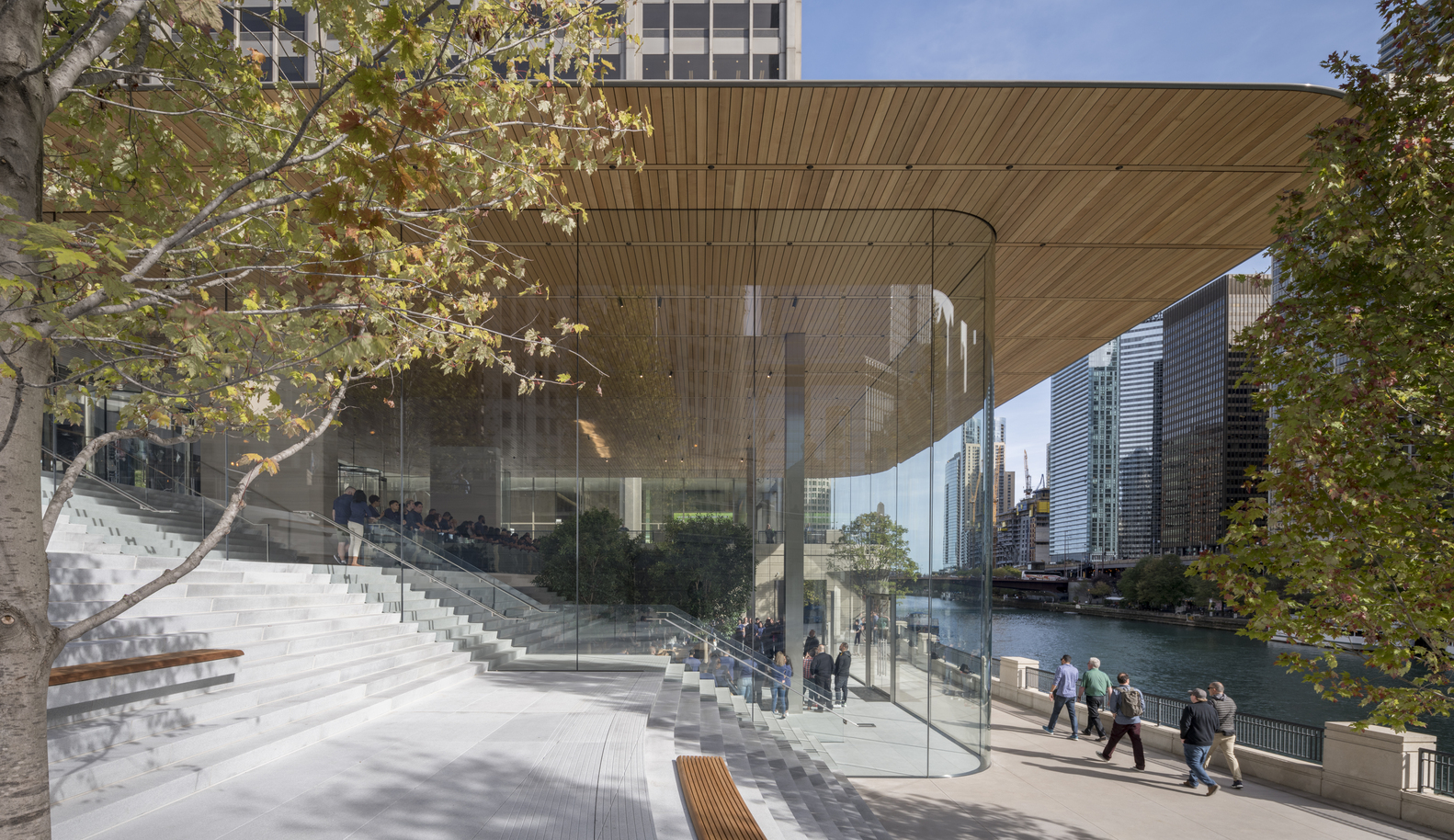 Apple Office Exterior