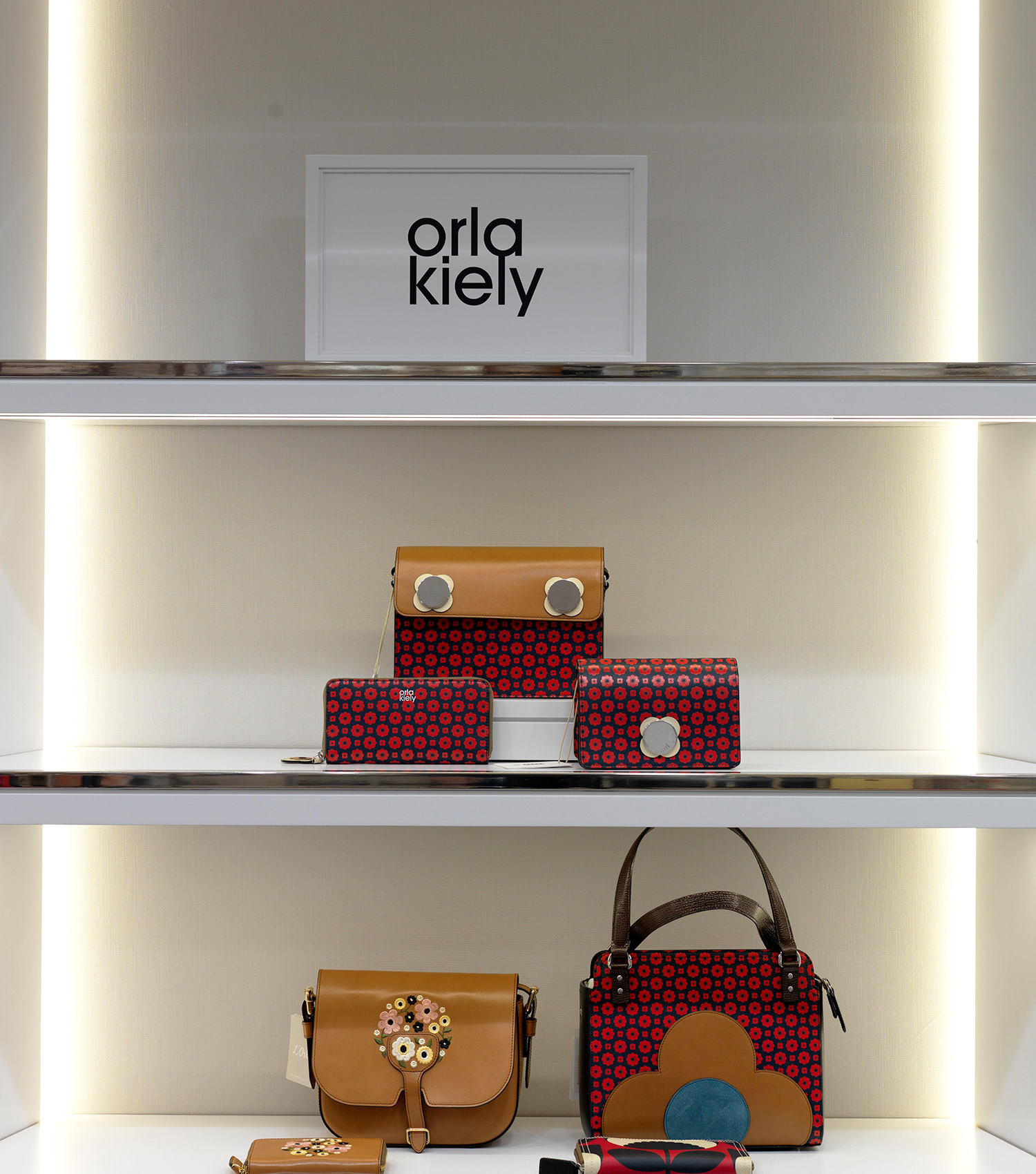 Browns Department Store Handbag Display