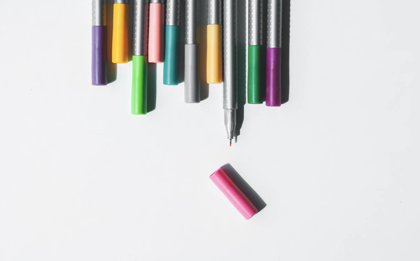 Coloured Pens