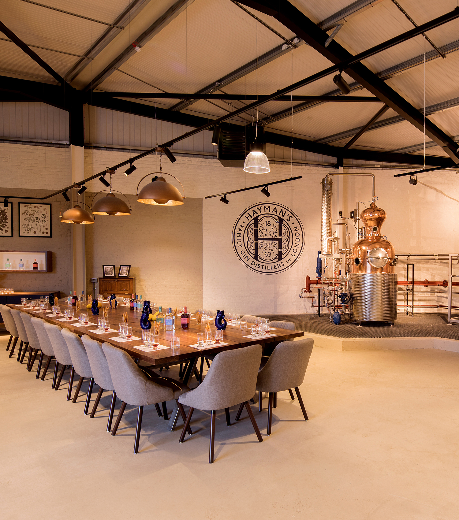 Haymans Gin Distillery London