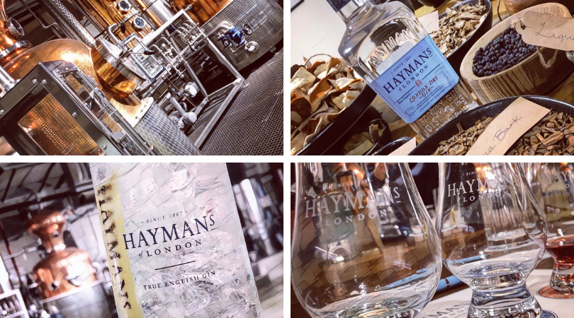 Haymans Gin Collage