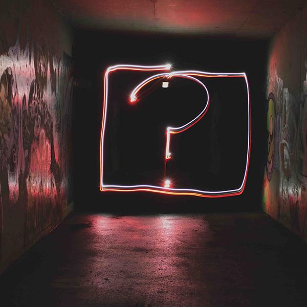 Question Mark Light