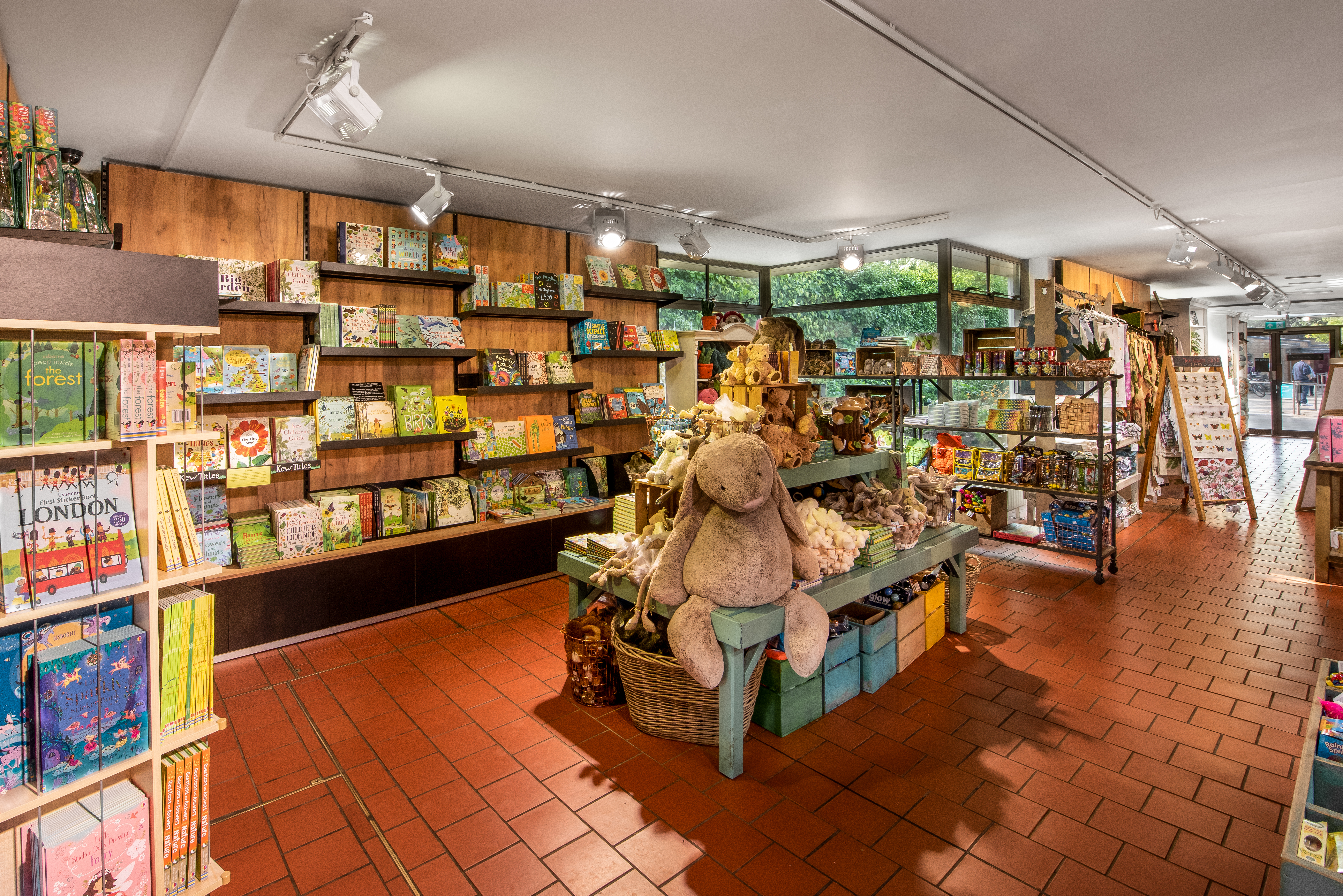 Kew Gardens Gift Shop Interior