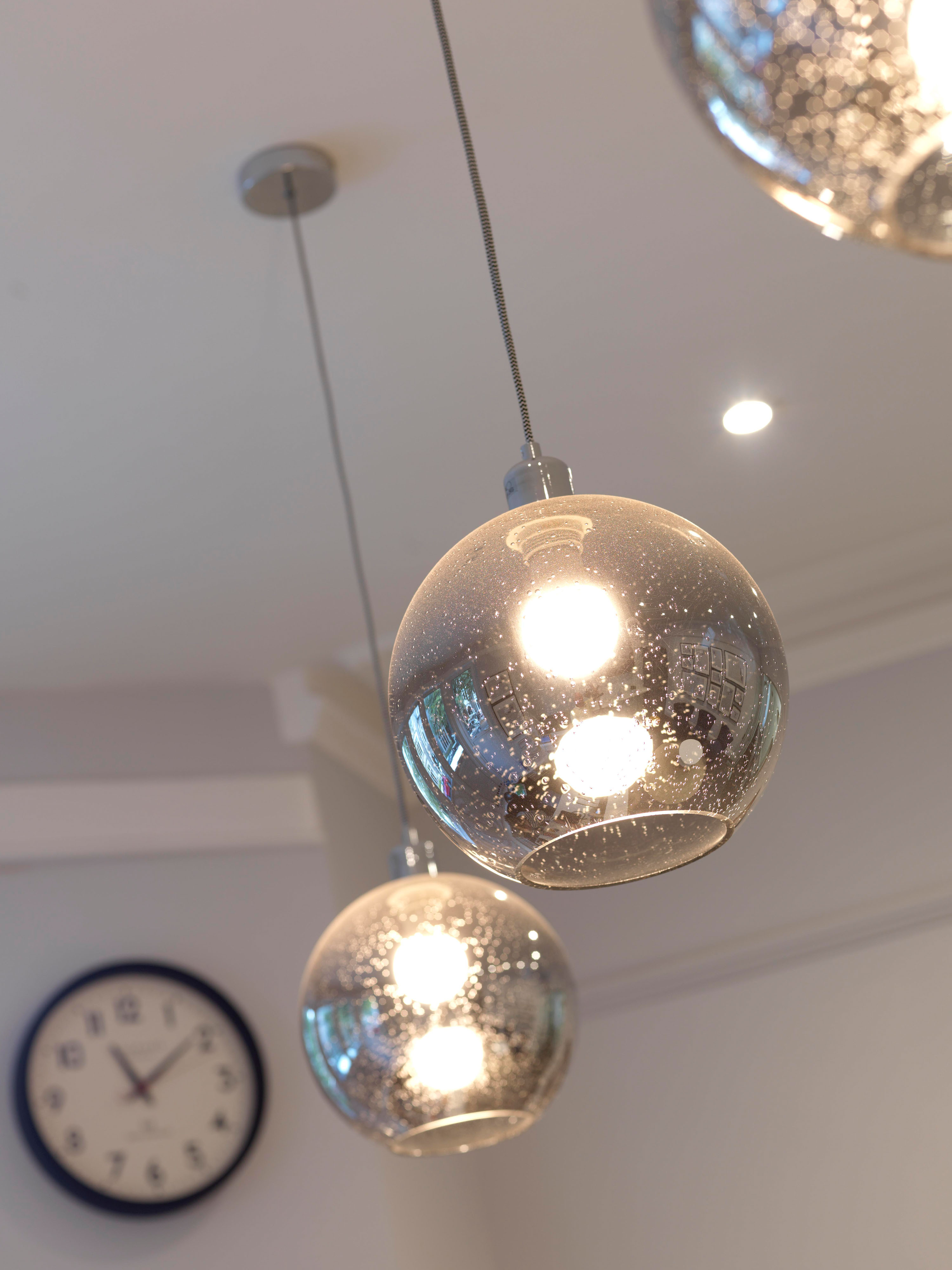 Hanging Orb Light