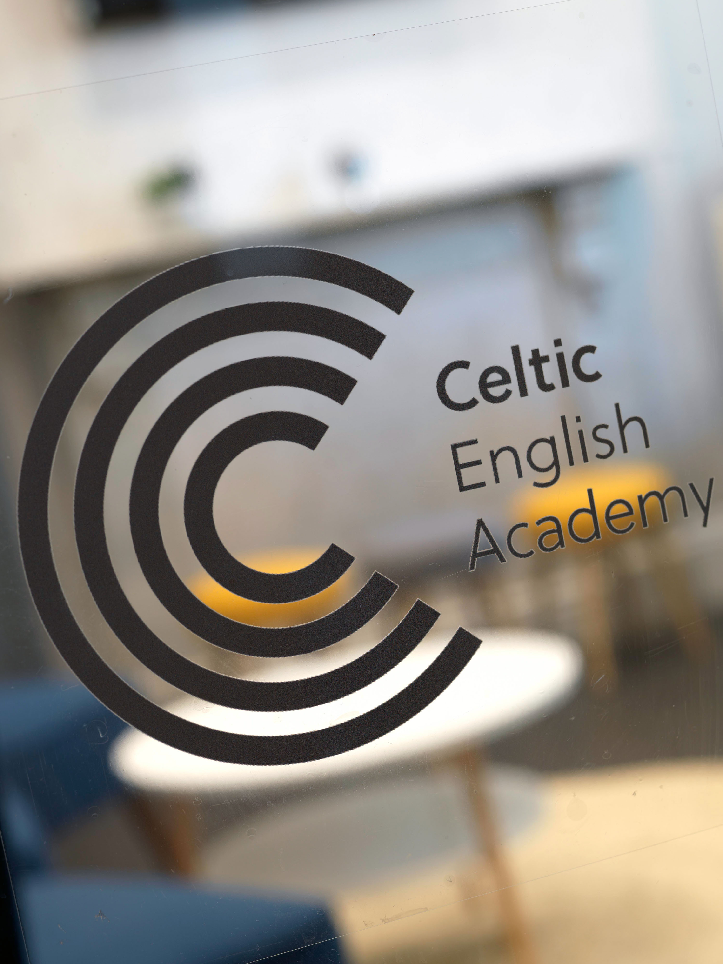 Celtic English Academy Sign