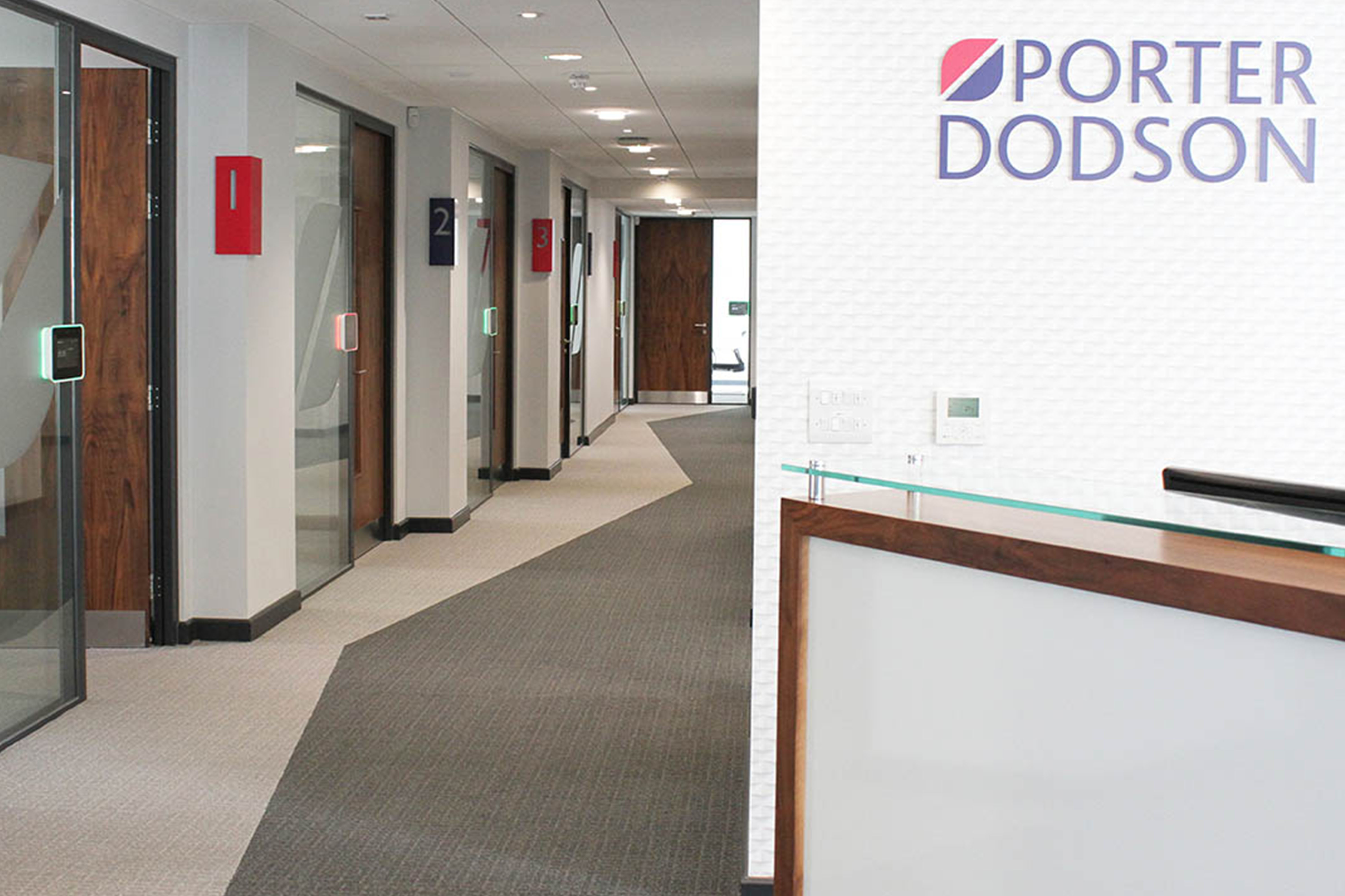Porter Dodson Office Interior