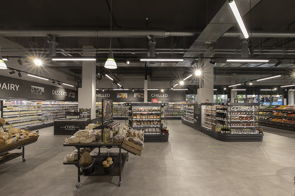 Coop Oxford retail fit out
