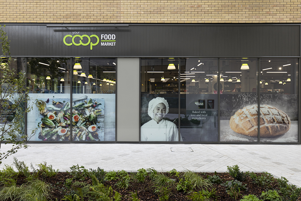 Co-op Oxford retail fit out