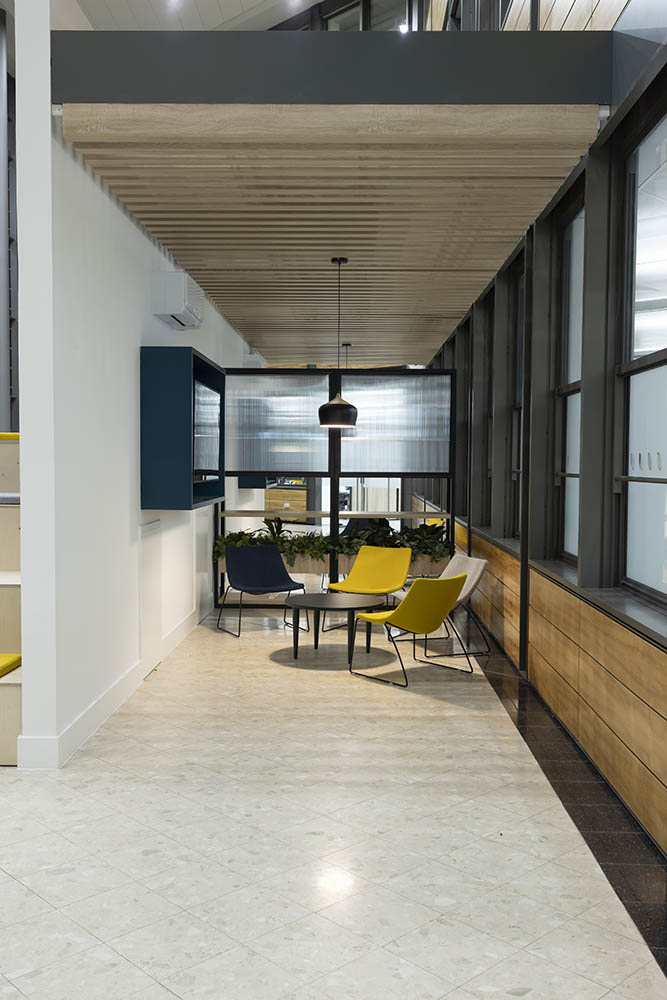Head office design and fit out